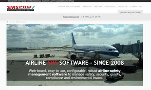 Alaska Website Design - Airline SMS Software