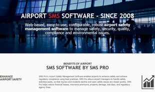 Alaska Website Design - Airport SMS Software