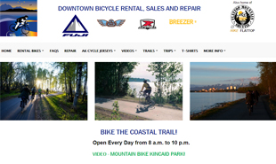 Downtown Bicycle Rental